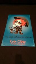 vtg Ruby Gloom happiest girl in the world cartoon comic anime marvel dvd poster
