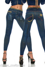 Sexy Jean Funky Style Jeggings Naughty Club Fashion Designer Leggings