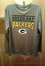 This is a youth NFL Green Bay Packer size XL long sleeve shirt with G on it.