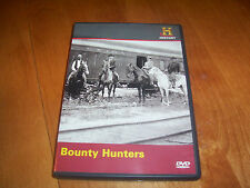 BOUNTY HUNTERS Wild West Tech Outlaw Hunter Outlaws Posse HISTORY CHANNEL DVD