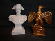 Bustes de Napoléon et petit aigle *