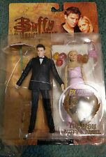 Buffy the Vampire Slayer action figures Prom Buffy and Angel Previews Exclusive