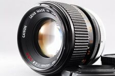 Canon FD 100mm F/2.8 S.S.C MF FD Mount lens From Japan #114 【Excellent++++】