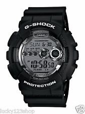 GD-100BW-1D Black Casio G-SHOCK 200M Sport Watch Digital Resin Band Men New