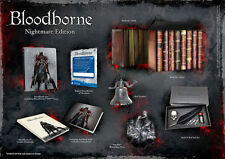 BLOODBORNE Nightmare Collectors Edition PS4 - VERY GOOD CONDITON - VERY RARE!