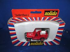 Solido Toner Gam I Jeep # 2117 Metal Diecast 1:43 in good condition