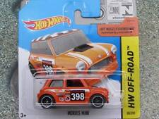 Hot Wheels 2015 #080/250 MORRIS MINI orange HW OFF-ROAD CASE B