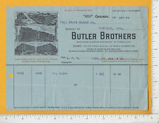 7975 Butler Bros catalog sales 1906 billhd Chicago Hall Grain Grader Winfield IA