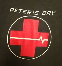 PETER'S CRY med T shirt Won't Accept Silver medical Christian rock Toledo OHIO
