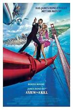 "JAMES BOND POSTER ""A VIEW TO KILL / IM ANGESICHT DES TODES"""