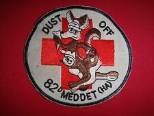 Vietnam War US 82nd Medical Detachment HELICOPTER AMBULANCE DUSTOFF Patch