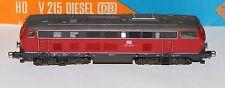 Roco H0 Diesellok 4151  BR 215 031-6, rot/grau in OVP, die Lok läuft gut