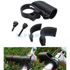 Bicycle Bike Flashlight LED Torch Light Mount Holder Clip Grip Bracket Stand
