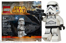NEW star wars lego STORMTROOPER SERGEANT minifigure rare polybag 5002938