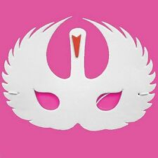Foam White Swan Mask - Fancy Dress For Children & Grown Ups