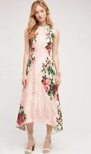 NIB Anthropologie Butterfly Garden Midi Dress Size 6 8