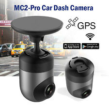 360° Rotate Capacitor 1080P Car WIFI Dash Camera GPS DVR Wireless Video Recorder