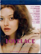 NEW BLU-RAY  // LOVELACE // Amanda Seyfried, James Franco, Peter Sarsgaard