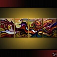 HUGE MODERN ABSTRACT WALL DECOR ART CANVAS OIL PAINTING NO FRAME!