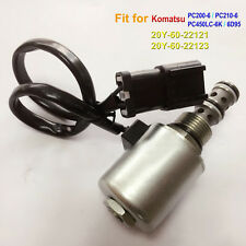 20Y-60-22121 Rotating Solenoid Valve for Komatsu PC200-6 PC210-6 6D95 PC450LC-6K