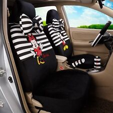 # X'mas Gift ONSALEMickey Minnie Mouse Car Seat Covers Cushion Accessories 18PCS
