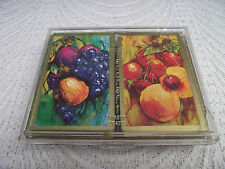 VTG TWO SETS DOUBLE DECK STANCRAFT PLASTIC COATED PLAYING CARDS IN BOX