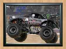 Metal Mulisha Brian Deegan Monster Jam Truck Signed Autograph A4 Photo Print