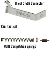 Ghost 3.5 lb Kit for Glock Trigger Connector & Wolff Competition Springs Gen 1-4