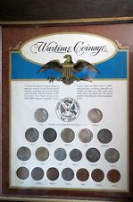 1942-1945  COMPLETE  WORLD WAR II  Sm. COINS SET, 20 Total Silver Nickels/Cents