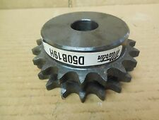 """Martin Double Roller Sprocket D50B19H 1"""" Keyed Bore New"""