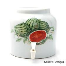Goldwell Designs® Sweet Watermelons Porcelain Water Dispenser Crock (DD401)