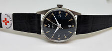 RARE USED VINTAGE ZENITH PILOT BLACK DIAL MANUAL WIND MAN'S WATCH