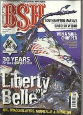 BSH BACK STREET HEROES JAN 2004 HARLEY NEC BIKE SHOW BRIGHTON RUN IRISH TRIKE