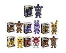 Five Nights at Freddy's Set 7 Funko POP All 6 Plus Shadow Freddy Hot Topic Exclu