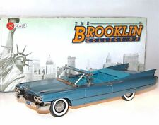 Brooklin BRK 199, 1960 Cadillac Series 62 Convertible Coupe, Lucerne Blue, 1/43