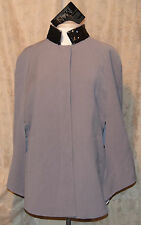 IMAN PLATINUM COLLECTION CHIC SEQUIN COLLAR FULLY LINED CAPE W/POCKETS XL/1X NEW