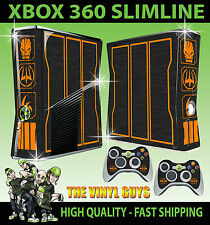XBOX 360 SLIM STICKER CALL OF DUTY SPECIAL EDITION BLACK OPS III SKIN + PAD SKIN