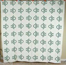 MUSEUM QUALITY Vintage Pre Civil War Baskets Antique Quilt ~AMAZING QUILTING!