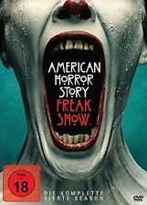 4 DVD-Box ° American Horror Story - Staffel 4 - Freak Show ° NEU & OVP