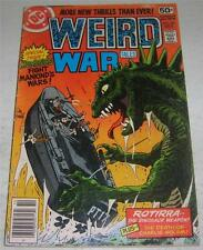 WEIRD WAR TALES #68 (DC Comics 1978) Frank Miller art (2nd DC work) (VG/FN)