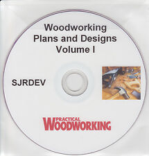 Woodworking Craft Plans 2900+ DVD Carpentry Joinery Designs Hobby Shed Chippie