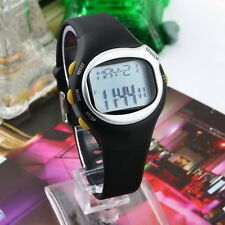 Pulse Heart Rate Monitor Wrist Watch Calories Counter Sports Fitness Exercise LJ