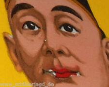 Wie Enver Bey Cigaretten mit FEZ und Qualm Original Emailleschild 1920