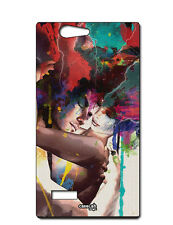 CUSTODIA COVER CASE AMORE SPLATTER LOVE PER ZTE BLADE L2
