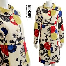 MOSCHINO Cheap and Chic Floral Coat Size 12