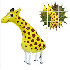 Kids 3D Style Giraffe Mylar Ballons Animals Foil Balloons Pet Shop Kids Toys