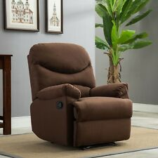 Recliner Chairs For Living Room Lazy Boy On Sale Sofa Microfiber Brown Clearance