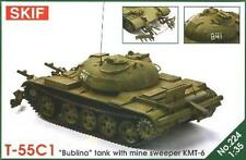 T-55 C-1 BUBLINA - COLD WAR ERA SOVIET HEAVY MINE SWEEPER 1/35 SKIF RARE!