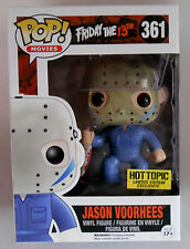 FUNKO POP * FRIDAY THE 13TH JASON VOORHEES * #361 * HOT TOPIC LIMITED ED * BNIB!