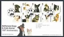 29178) UK - GREAT BRITAIN 2010 FDC 150 Years Battersea Cats & Dogs